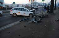 FOTO - Accident rutier pe Calea Turzii