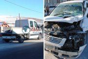 FOTO/VIDEO - Accident cu trei autovehicule în Vâlcele