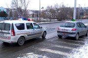 VIDEO - Șofer arestat în plină stradă, lângă Sala Polivalentă. Ce a făcut
