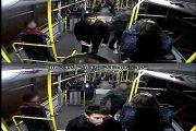 FOTO – Controlori pulverizaţi cu spray lacrimogen de tânărul din imagini. Poliția cere sprijin pentru identificare!