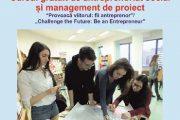 Curs gratuit de antreprenoriat social și management de proiect pentru tineri