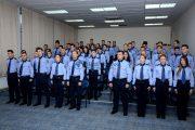 FOTO - Jurământ de credinţă pentru 54 de agenți de poliție încadrați din sursă externă în IPJ Cluj
