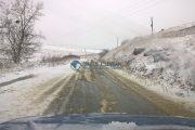 Atenție, polei pe unele drumuri județene din Cluj!