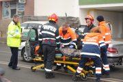 Accident grav în Dej, șoferul NEVINOVAT era la un pas de comă alcoolică