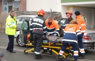 FOTO - Accident în lanț pe Calea Mănăștur, o șoferiță rănită. Gestul pompierilor, fără comentarii