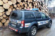 Polițiștii din Feleacu au descoperit un prejudiciu din tăierea pădurilor de 90.000 de lei