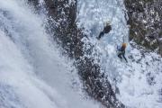 Festivalul pereților de gheață la Cascada Vălul Miresei din Rachițele,  în acest weekend