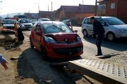 VIDEO - Accident cu 3 mașini la ieșire din Florești spre Gilău, o persoană rănită. Cine a fost de vină