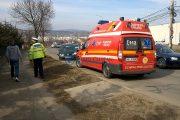 FOTO/VIDEO - Accident cu victimă pe strada Frunzișului! De data asta nu au fost de vină viteza și curba