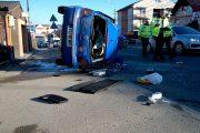 VIDEO - Accident spectaculos pe strada Frunzișului, varianta Zorilor-Mănăștur