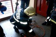 Panică pe Aleea Moldoveanu din Cluj-Napoca. Pompierii au fost chemaţi urgent