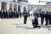 GALERIE FOTO - IPJ Cluj a primit drapelul unităţii la sărbătorirea a 195 de ani de la atestarea documentară a Poliţiei Române