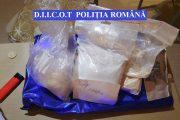 Ioan Răzvan Borz, prins de ofițerii BCCO Cluj în timp ce ridica un colet cu 1 kilogram de droguri de la o firmă de transport