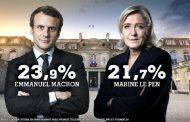 Emmanuel Macron și Marine Le Pen, în ultima rundă a alegerilor prezidențiale din Franța