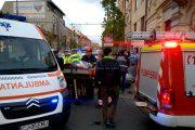 VIDEO - Accident deosebit de grav pe Calea Moților, doi adulți și un bebeluș au fost răniți