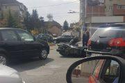 Început de sezon moto, cu victime la Cluj. Motociclist accidentat pe strada Nicolae Titulescu