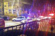FOTO/VIDEO - Accident grav în cartierul clujean Gheorgheni