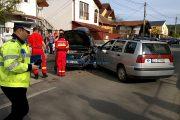 VIDEO - Accident grav provocat de un șofer mort de beat pe strada Câmpului