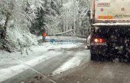 Situaţia drumurilor judeţene din Cluj în 19 noiembrie. Atenție, polei pe unele sectoare de drum!