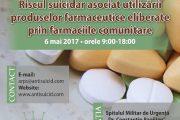 """Conferință la Spitalul Militar pe tema """"Riscul suicidar asociat utilizării produselor farmaceutice eliberate prin farmaciile comunitare"""""""