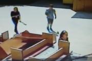 SHARE! Poliţia cere sprijinul clujenilor. Persoanele din imagini au dat foc la o grădiniţă din Mănăştur