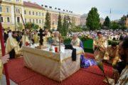 Procesiune de Rusalii la Cluj-Napoca. Evenimentul reînvie o veche tradiţie din Ardeal