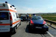 VIDEO - Accident pe centura localității Apahida. Manevra unui șofer a fost de vină