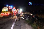 VIDEO - Accident pe un drum din Cluj, patru persoane rănite. Cine a fost de vină