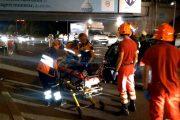 VIDEO - Accident grav la Podul N, pe Calea Florești, în Mănăștur. Șoferul vinovat era beat criță