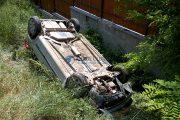 Accident cu trei răniți la Pata, tânărul de la volan nu avea permis de conducere