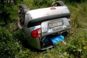 VIDEO - Accident grav pe strada Borhanciului, trei persoane rănite. Șoferul era beat și fără permis