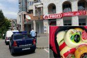 Ieșean fugărit prin Cluj-Napoca de un jandarm aflat în timpul liber. Hoțul furase cașcaval de la Profi