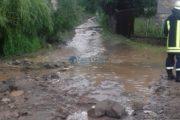 Cod galben de inundații, ploi și vijelii la Cluj