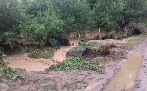 Intervenții de urgență în zona de munte a județului Cluj