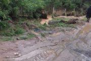 FOTO/VIDEO - A venit sezonul inundațiilor. În zona de munte a județului Cluj, ploaia a făcut ravagii
