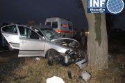 Accident la Valea Drăganului. O femeie a fost rănită, șoferul era la un pas de comă alcoolică