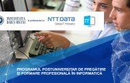"""Universitatea """"Babeş-Bolyai"""" şi NTT DATA Romania, pregătiţi să ofere comunităţii noi specialişti în IT&C"""