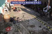 UPDATE - FOTO - Mascații au descins în 6 locații din Baciu