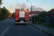 UPDATE - FOTO/VIDEO - Incendiu la Pata Rât. Pompierii, în alertă din nou