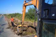 CJ Cluj a demarat lucrările de modernizare şi reabilitare pe drumul județean DJ 107F