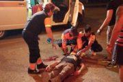 FOTO - Accident grav la Huedin. Un bărbat a fost spulberat pe o trecere de pietoni