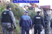 VIDEO - Suceagu, periat de polițiști. Ce căutau oamenii legii