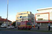 FOTO - La un pas de tragedie, pe Calea Turzii. Un șofer băut a accidentat un biciclist și a fugit