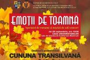 """""""Emoții de toamnă"""", spectacol de romanţe şi muzică de café-concert"""