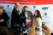 """VIDEO - 2 milioane de pasageri pe Aeroportul Internațional """"Avram Iancu"""" Cluj, în mai puțin de un an"""