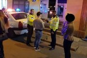 FOTO - Polițiștii au luat cu asalt strada Piezișă și împrejurimile