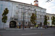 FOTO - Au început lucrările de renovare a Palatului Reduta ce găzduiește Muzeul Etnografic al Transilvaniei