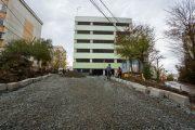 FOTO - Parkingul de pe strada Negoiu urmează să fie inaugurat. Cum arată și câte locuri de parcare va avea