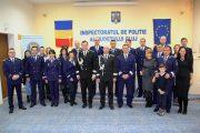 1 Decembrie –Ziua Naţională a României, prilej de sărbătoare şi recompensare a poliţiştilor merituoşi