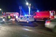 UPDATE - FOTO/VIDEO - Accident grav la Metro. Un autoturism a fost izbit în lateral de un altul